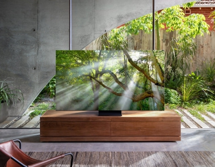 Samsung Eliminates The Screen Bezel in New 2020 QLED 8K TV