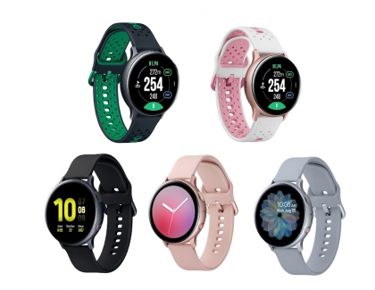 Samsung Unveils Upgraded Galaxy Active2 Smartwatches in S. Korea