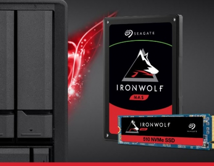 Seagate Launches IronWolf 510 PCIe SSD Built For Business NAS