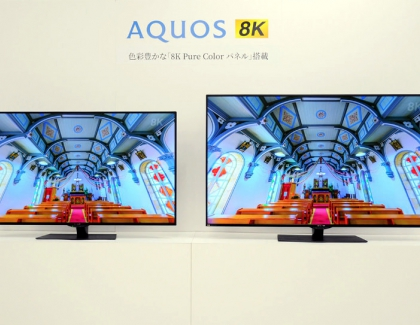 Sharp Unveils New Flagship AQUOS CX1 8K series of TVs