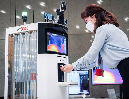 SK Telecom Introduces 5G-Powered Autonomous Robot to Help Fight Against COVID-19