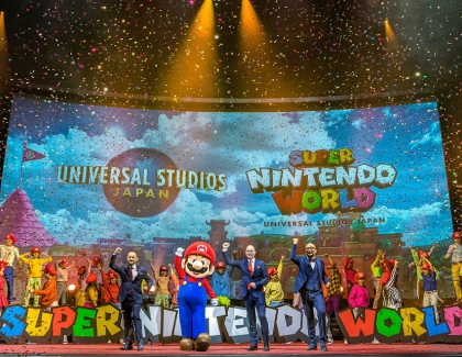 Nintendo Plans Super Nintendo World Game at Universal Studios Japan