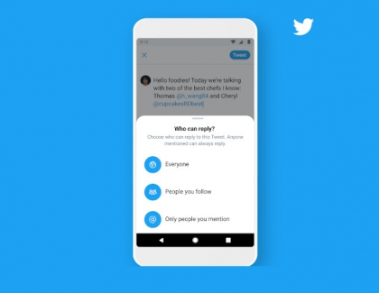 Twitter's New Settings Let You Choose Who Can Reply to Your Tweet