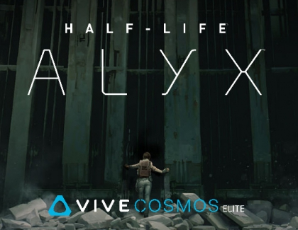 VIVE Cosmos Elite Now Bundled With Upcoming Half-Life: Alyx