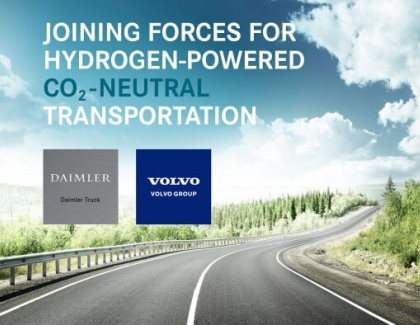 The Volvo Group and Daimler Truck form Joint Venture for Production of Fuel Cells