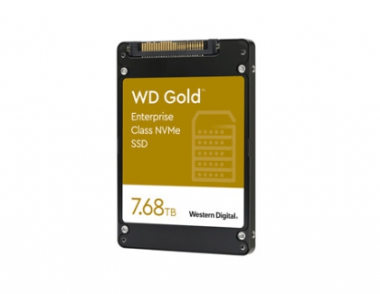 WD Launches New Gold NVMe SSDs For Datacenters