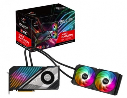 ASUS announced water-cooled ROG Radeon RX 6900 XT STRIX