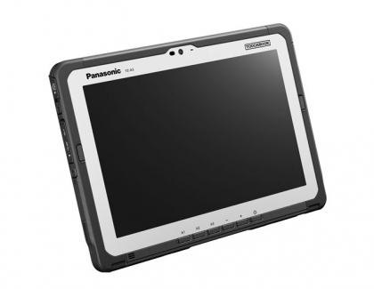Panasonic further strengthened its popular Android line-up today with the launch of the TOUGHBOOK A3, a fully rugged tablet with a 10.1 inch display.