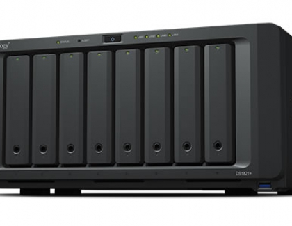 Synology introduces DS1821+ NAS with eight bays and AMD Ryzen quad core