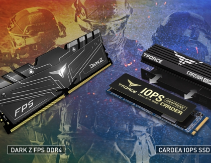 TEAMGROUP Launches DARK Z FPS Gaming Memory and Cardea IOPS Gaming PCIe SSD for Performance-Seeking Players