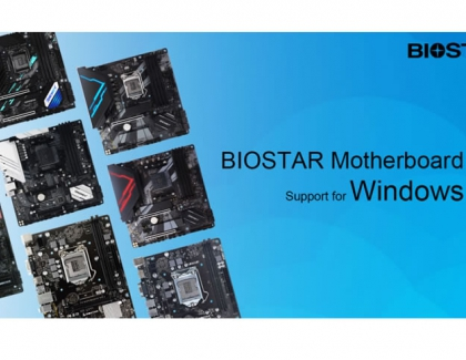 BIOSTAR Announces Motherboard Support for Windows 11 Operating System