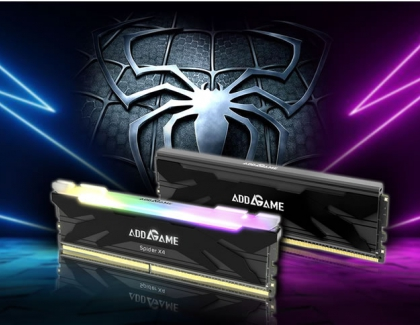 addlink Launches High-Performance AddGame SPIDER 4 and SPIDER X4 Series Gaming Memory