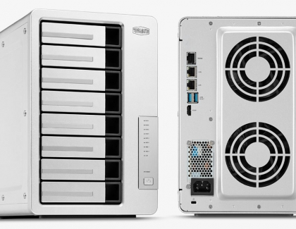 TERRAMASTER INTRODUCES REDESIGNED F8-422 8-BAY NAS WITH 10GBE NETWORKING