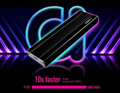 addlink launch P20 Portable SSD speed of up to 1050MB/s