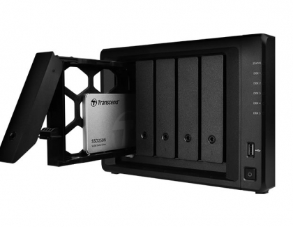 "Transcend Releases 2.5"" NAS SSD Drive SSD250N"