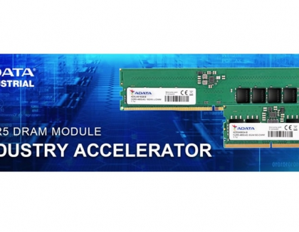 ADATA Industrial Introduces DDR5 Memory for Industrial Use