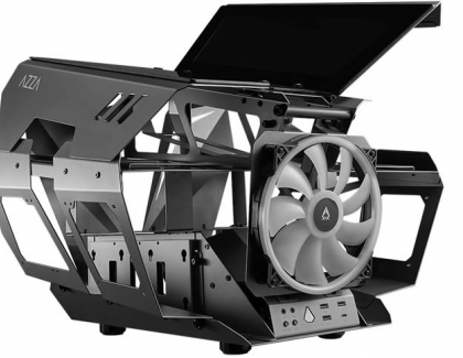 AZZA Announces Engine-Inspired Falcon Wing Case - the OVERDRIVE