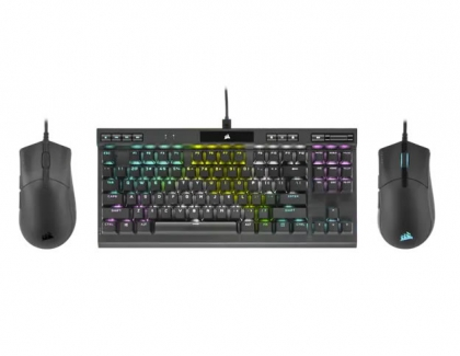 CORSAIR Announces K70 RGB TKL Gaming Keyboard and SABRE PRO Gaming Mice