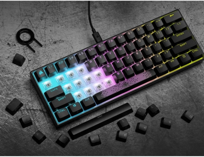 CORSAIR Launches K65 RGB MINI 60% Mechanical Gaming Keyboard