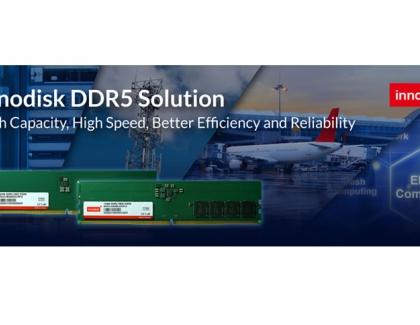 Innodisk Noffers Industrial-Grade DDR5 DRAM Modules