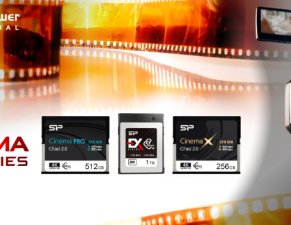 "SP Industrial Presents ""Cinema Series"" CF Cards For Unparalleled 4K/8K Recording"