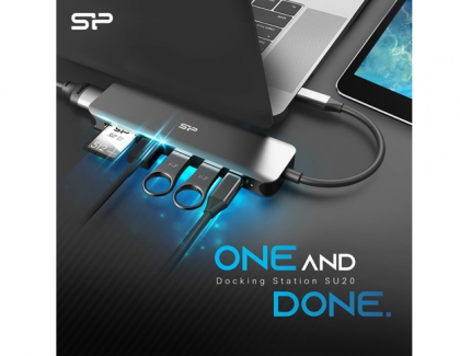 Silicon power announces One And Done With A 7-In-1 Docking Station
