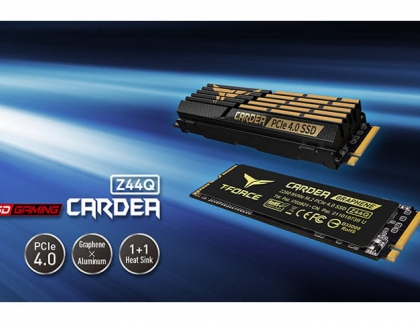 TEAMGROUP Launches Z44Q PCIe4.0 SSD