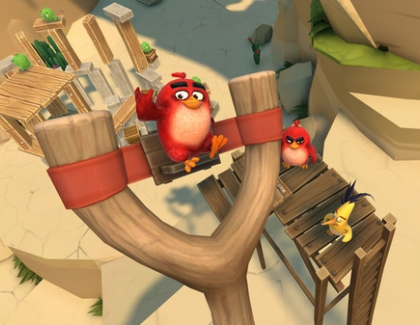 Rovio Gets Into Mobile AR With New Angry Birds Isle of Pigs Game