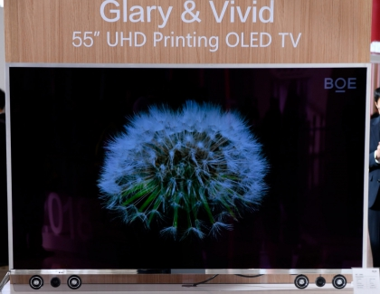 China's BOE Develops 55-inch 4K OLED TV Using Inkjet Printing Technology