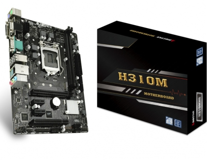 BIOSTAR Launches the H310MHG Micro-ATX Motherboard
