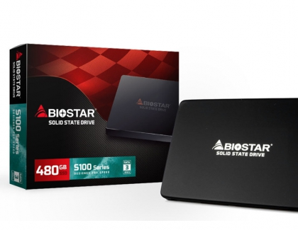 BIOSTAR Launches the Affordable S100 Series Plus SSD series