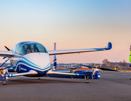 Boeing Successfully Tested Flying Passenger Drone