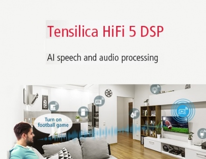 New Cadence  Tensilica HiFi 5 DSP Is Optimized for AI Speech and Audio Processing