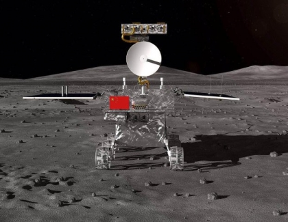 China's Spacecraft Lands on the Moon's Far Side