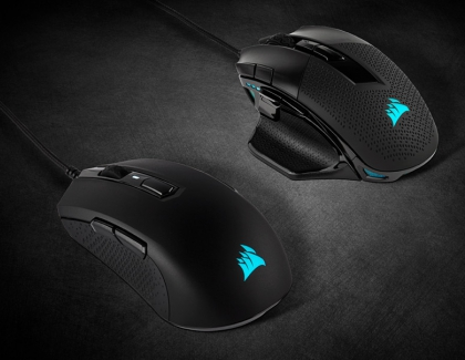 Corsair Launches the New NIGHTSWORD RGB and M55 RGB PRO gaming Mice