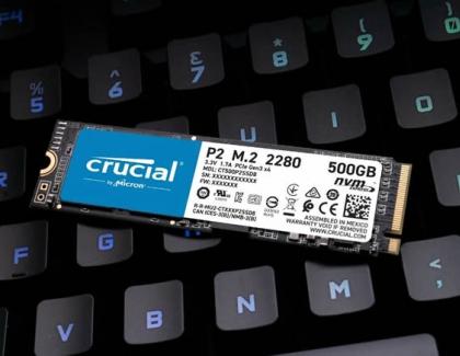 Crucial P2 Nvme 500GB