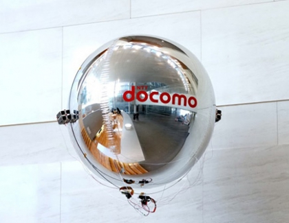 DOCOMO's Drone is Propelled Using Ultrasonic Vibrations