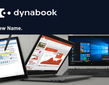Toshiba America Client Solutions Changes Name to Dynabook Americas