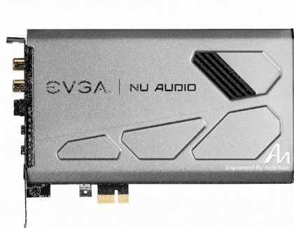 EVGA's First Sound Card Nu Audio Released for $250