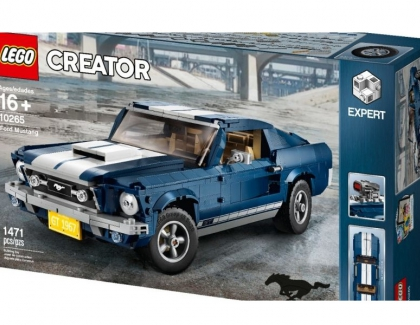Ford and LEGO Releases New Ford Mustang Set