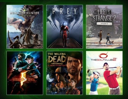 Coming This Month to Xbox Game Pass: Monster Hunter: World, Prey, Life is Strange 2: Episode 2, and More