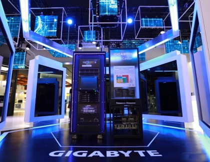 Gigabyte Showcases Upgraded SSDs,  Liquid cooling, Cloud Storage, and AI-Integrated Laptops at CES 2019