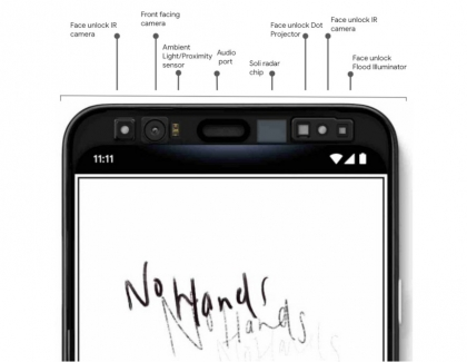 Motion Sense and Face Unlock Features Coming to Pixel 4