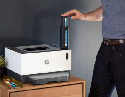 HP Debuts First Toner Tank