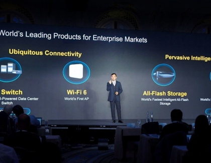 Huawei Presents New Enterprise and Autonomous Driving Mobile Networks Products