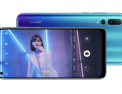 Huawei Nova 4 Comes With a Hole-punch Display and a 48-megapixel Camera