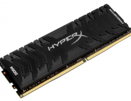 HyperX Sets DDR4 Overclocking World Record at 5608MHz
