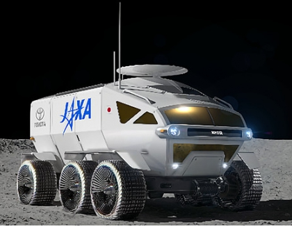Japan Wants to Send a Toyota Vehicle to the Moon