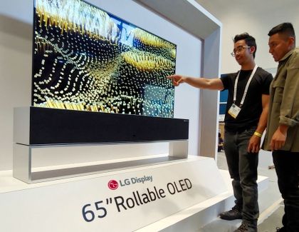 LG Display Showcases OLED Displays at SID 2019