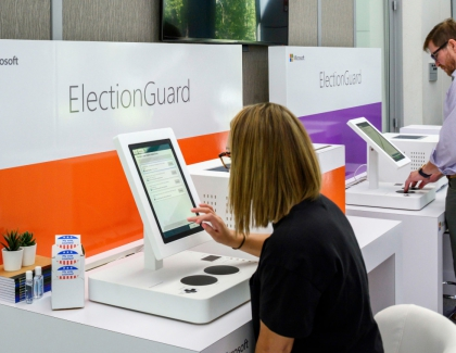 Microsoft Demonstrates the ElectionGuard Voting System